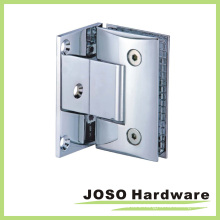 90 Degree Glass to Wall Curved Offset Back Plate Hinge (Bh4001A)